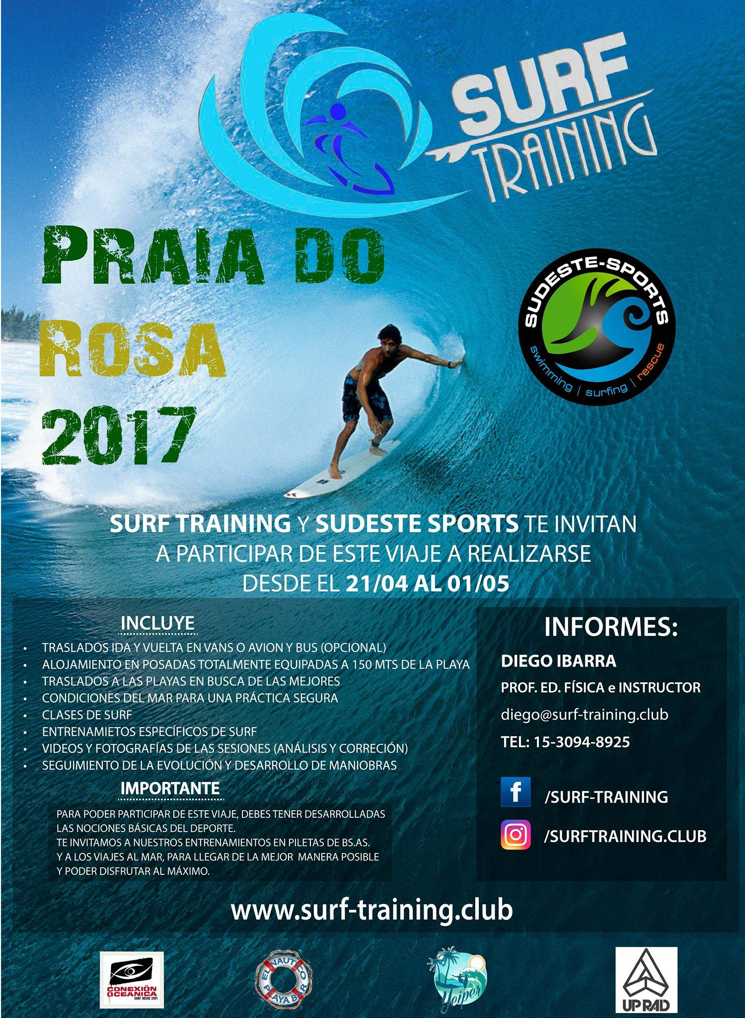 Surf Training, Club de Surf
