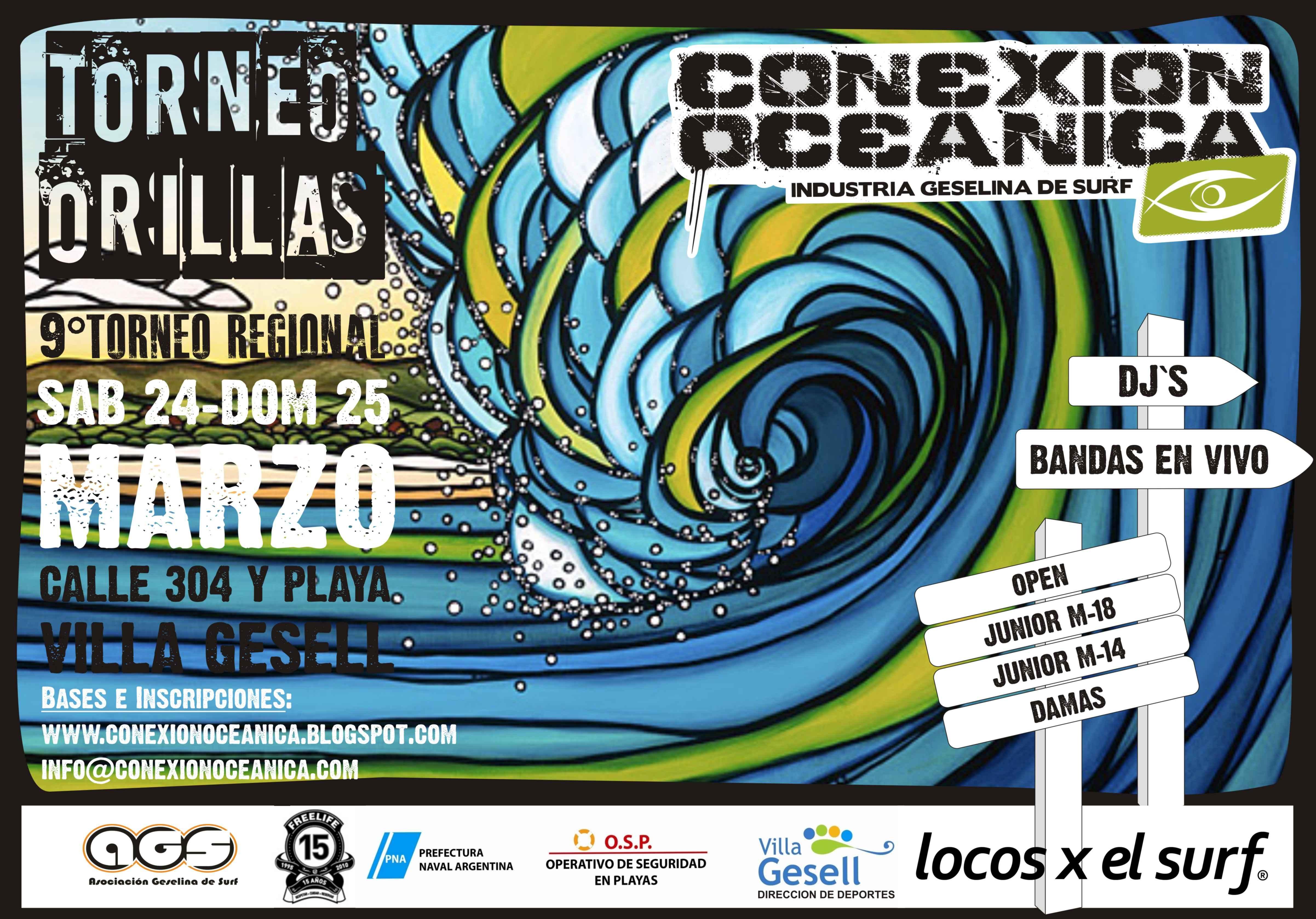 Torneo de Surf Orillas 2012