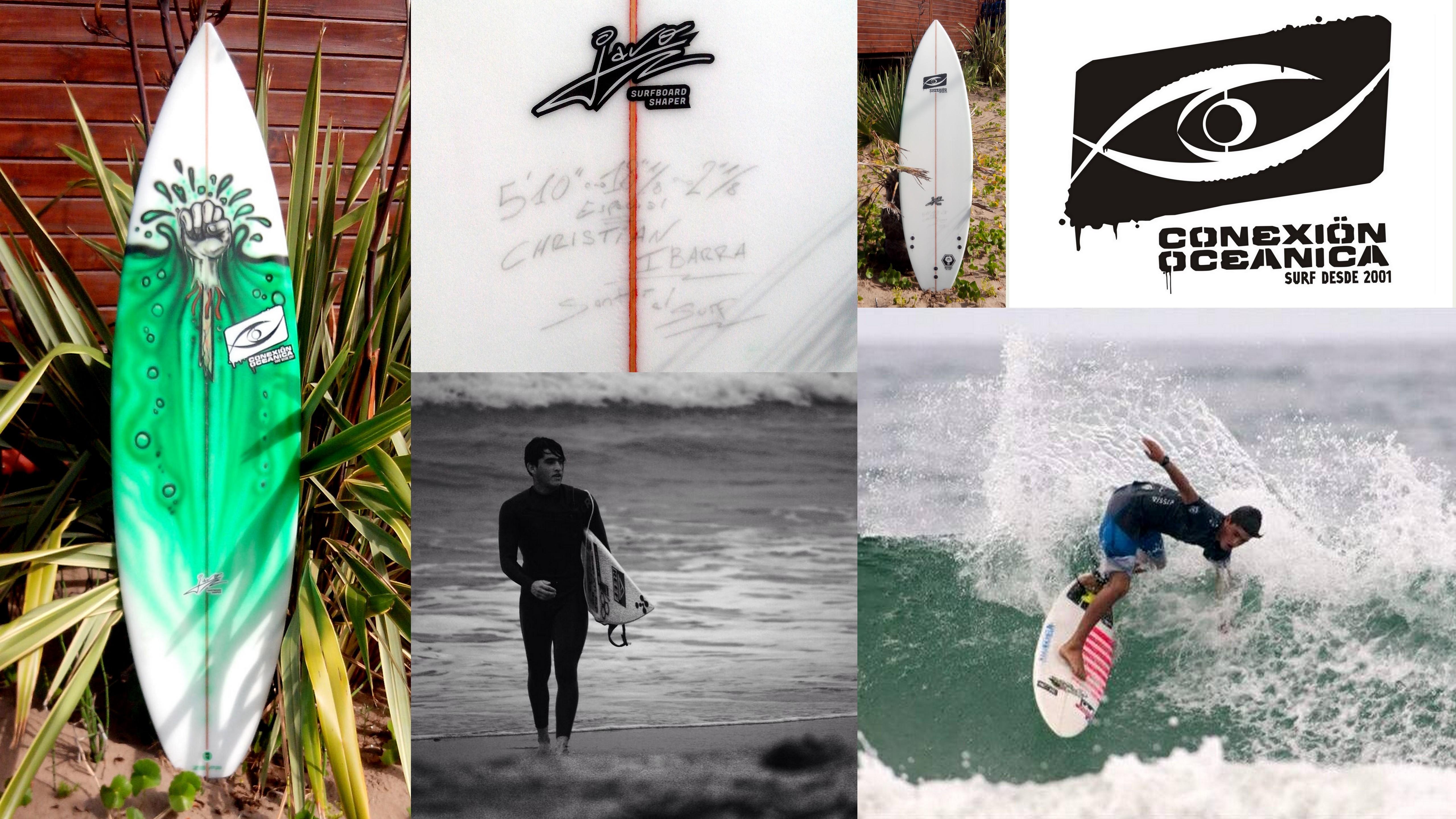 Surfboard C.O especial Christian Ibarra