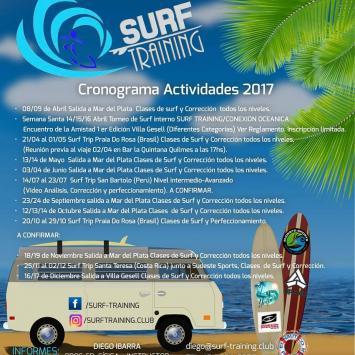 Actividades Surf Training Club 2017