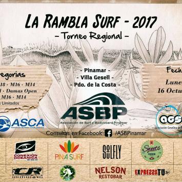 Torneo de Surf / La Rambla Surf 2017