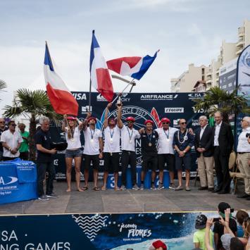 France Champion du Monde de Surf