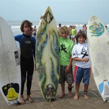 Aprendiendo a Surfear