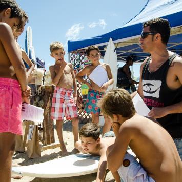 LA TABLA DE SURF DEL PRINCIPIANTE