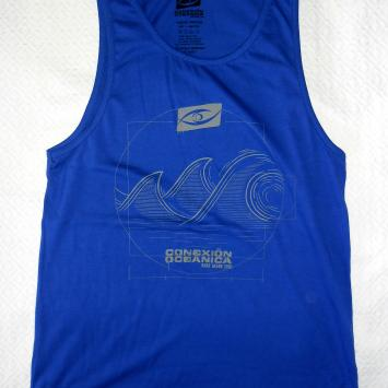Musculosa 7 Olas / Azul